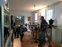 Der Saarländische Rundfunk bei Nane Adam im Atelier